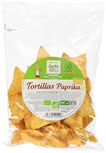 Jardin Bio Tortillas Paprika sans Gluten 125 g