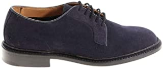 TRICKER'S Luxury Fashion Mens ROBERTNAVY Blue Lace-Up Shoes | Spring Summer 19