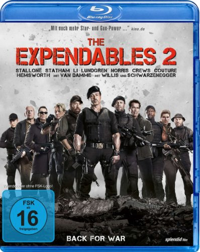 The Expendables 2 - Back for War [Blu-ray]