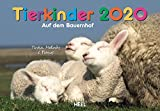 Tierkinder auf dem Bauernhof 2020: Der Sympathische Tierkinder-Kalender mit den charmanten Namen -