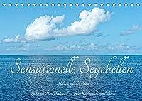 Sensationelle Seychellen - Idylle im Indischen Ozean (Tischkalender 2022 DIN A5 quer): Sonne, Strand und Meer fuer alle, die nicht reisen koennen (Monatskalender, 14 Seiten )
