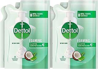 Dettol Aloe Coconut Foaming Handwash Refill, 200ml, Pack of 4