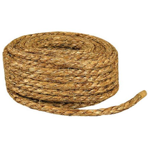 Wellington Cordage #28768 3/8'x50' Manila Rope