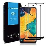 【2枚セット】TALENANA Samsung Galaxy A30 ガラスフィルム 2.5D 全面保護 Samsung Galaxy A30 フィルム 令和 日本製板ガラス/硬度9H/飛散防止/高透過率/指紋防止/気泡ゼロ