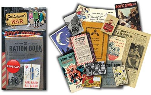Children's War. World War 2 Replica Memorabilia Pack. Contains Replica Period Items (mp)