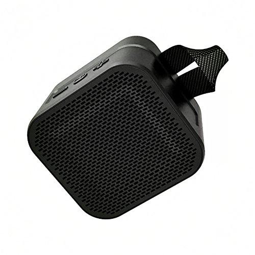 QAZWSX Portable Bluetooth Lautsprecher, Mini Outdoor-Reiten Wasserdicht, Stoßfest Und Staubdicht Wireless-Lautsprecher,Black