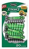 Schick Xtreme 3 Sensitive Skin Razors 20-Pack - Flexible Blades with Aloe Fights Razor Burn