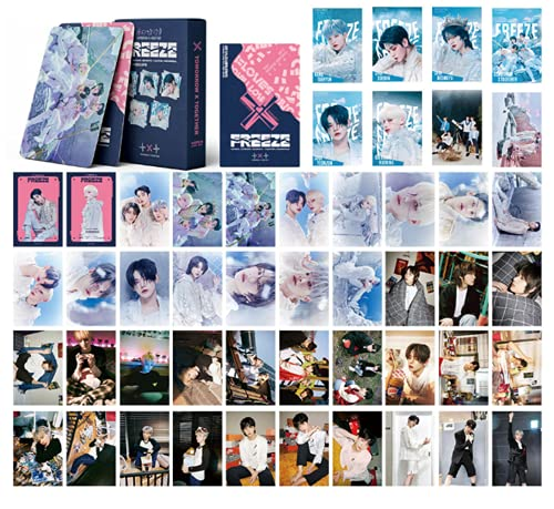 TXT Lomo Cards Kpop Tomorrow x Together LOMO Cards 55pcs TXT The Chaos Chapter:Freeze...
