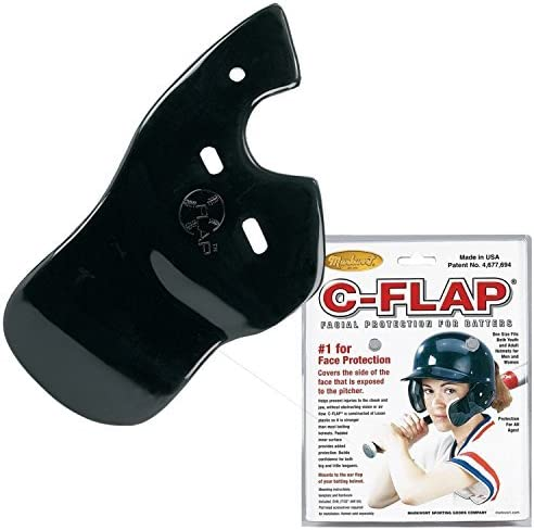 Outlet sale feature Max 73% OFF Baseball C-Flap Batter's Helmet Guard Protection Face Attachment