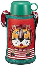 TIGER 虎牌 保温杯 600ml 两用 直饮 可用杯子 不锈钢 带杯套 sahara colobockle 狮子