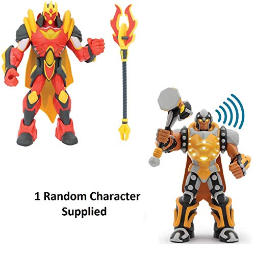 Gormiti Action Figures – Articulated 25 cm with Light and Sound, Multicoloured (GIOCHI PREZIOSI grm03000), Assorted models, 1 units