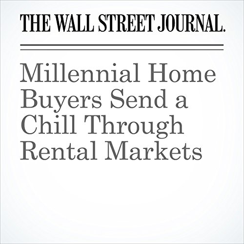 Millennial Home Buyers Send a Chill Through Rental Markets copertina