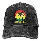 remmber me Coconut Tree Reggae Color Jamaican Unisex Sarga Lavada Gorra de béisbol de algodón Sombrero Ajustable Vintage