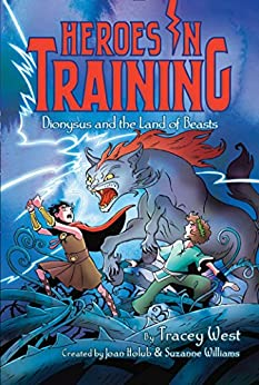 Dionysus and the Land of Beasts (Heroes in Training Book 14) by [Tracey West, Craig Phillips]