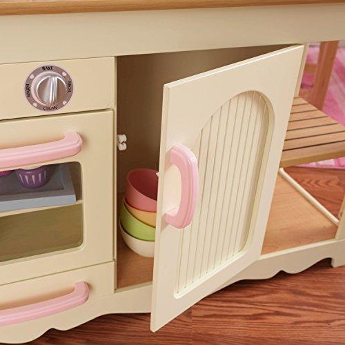 KidKraft 53151 Prairie Prärie-Spielküche aus Holz in Weiß Landhaus Kinderküche - 6
