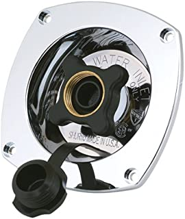 SHURFLO 183-029-14 Pressure Reducing City Water Entry (Wall Mount) -Chrome