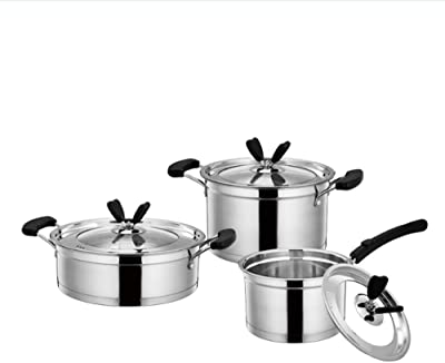 Amazon.com: Duxtop SSIB-17 juego de 17 piezas de utensilios ...