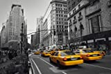 empireposter New York - Yellow Cab colourlight - Poster