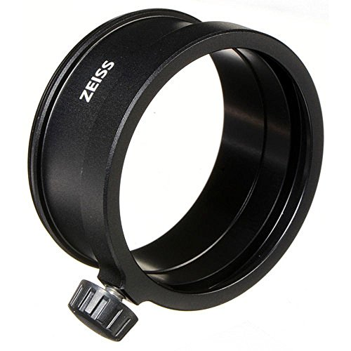 Zeiss M58 58mm Photo Lens Adapter for Conquest Gavia Spotting Scope, Black