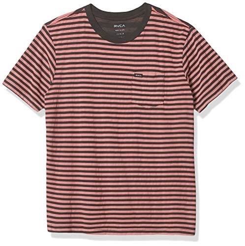 RVCA Boys Boys Strokes Short Sleeve T-Shirt Black Large