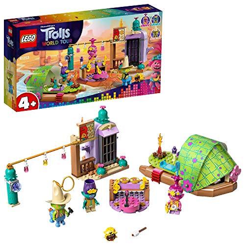 LEGO Trolls - Aventura en Balsa en Lonesome Flats, Set de Construcción de Barca con Minifiguras de Personajes de la Película, Incluye a Poppy, Branch y Hicory (41253)