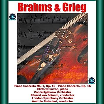 Brahms & Grieg: Piano Concerto No. 1, Op. 15 - Piano Concerto, Op. 16