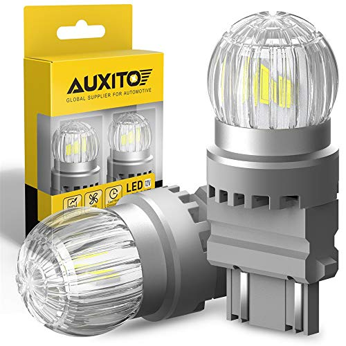 AUXITO 3157 LED Reverse Light Bulbs, Extremely Bright 3030 Chipsets 6000K White,...