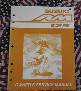 2003 suzuki rm 125 manual