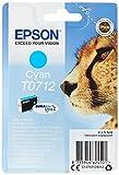 Epson C13T07124011 - Cartucho de tinta para Stylus D78 y otros, paquete estándar, color cian válido para los modelos Stylus, Stylus Office y otros