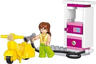 "Sluban Petrol Station ""Girls Dream"" Building Kit (37 Pieces)"