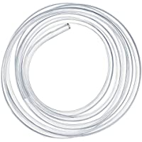 Kesote 4 mm (diámetro Interior) x 6 mm (diámetro Exterior) Tubo Flexible de PVC, Tubo Transparente de 5 Metros Ideal para Tanque y Acuario