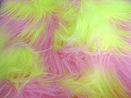 CRS Fur Fabrics Tela de Pelo sintético de Pelo Largo, Color ...