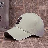 Sombrero Masculino Verano Moda Coreana Gorra de béisbol Pareja Femenina Salvaje Ocio al Aire Libre Protector Solar sombrilla Lengua de Pato Sombrero para el Sol