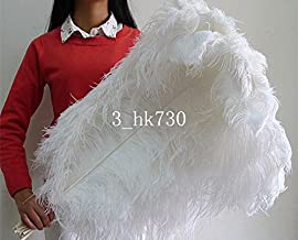 Wholesale! 10-100 pcs ostrich feathers 18-20 inch / 45-50 cm Wedding Set Party decoration household products Dance performance DIY