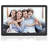 MELCAM Digital Photo Frame 10 Inch 1920x1080 High Resolution 16:9 Full IPS Display