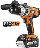 AEG AEGTAPER18V Taladro Atornillador Percutor 18 V, 12 W, Negro,...