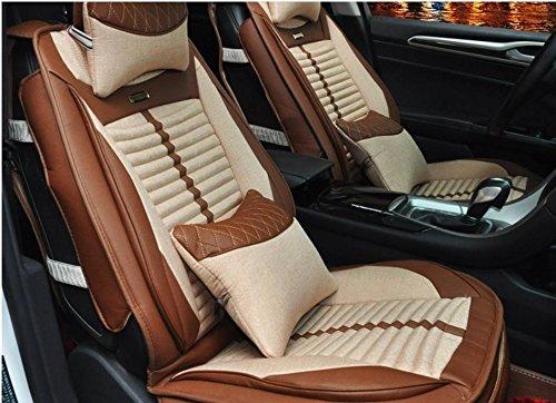 AMYMGLL Coussin de voiture Général Couverture Linge Édition Deluxe (10set) Coussin voiture couverture générale Four Seasons Universal 5 Couleurs Sélectionner , 4