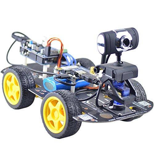 Goolsky Smart Wi-Fi 4WD Robot di DIY RC auto con 1.3 MP HD fotocamera supporto PC cellulare controllo monitoraggio