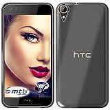 mtb more energy® Schutz-Hülle Clear und Slim für HTC Desire 830 (5.5'') - transparent - flexibel - TPU Silikon Hülle Cover Tasche