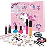 Mjartoria Calendario de Adviento de Maquillaje Calendario de Adviento de Navidad 2021 con 24 Sorpresas para Niños Niñas