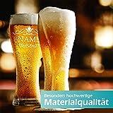polar-effekt Leonardo Weizenbierglas 0,5l mit Gravur personalisierte Weizenglas Geschenk-Idee – Bierglas für Männer und Frauen zum Geburtstag – Motiv Ornament - 7