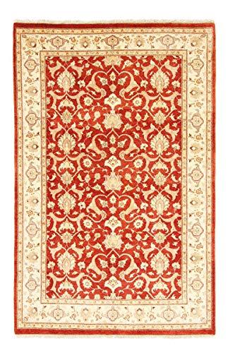 Nain Trading Kasak 190x124 Orientteppich Teppich Beige/Orange Handgeknüpft Pakistan