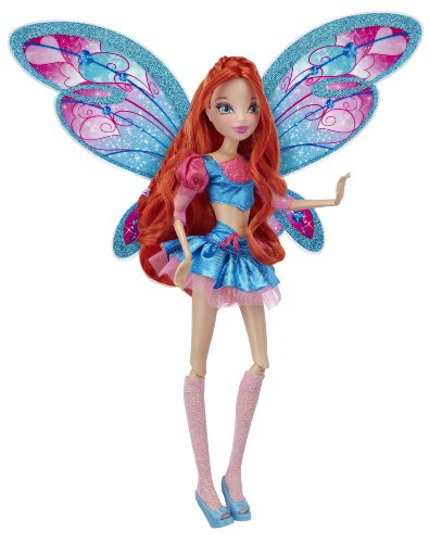 Winx 11.5 - inch Deluxe Fashion Doll Believix Bloom by