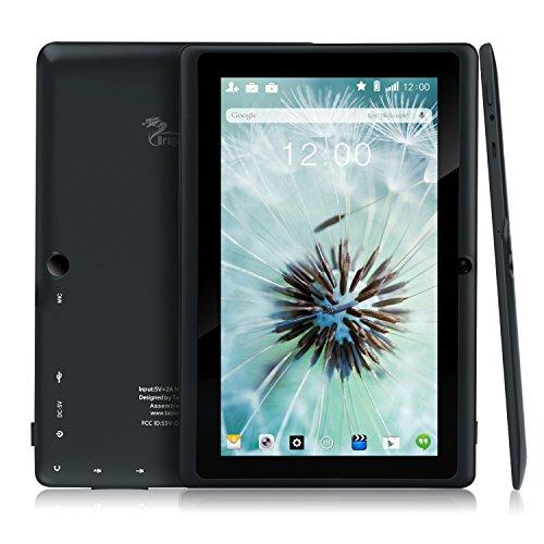 『Dragon Touch Y88X Plus 7インチ タブレットPC クアッドコア Google Android 4.4 KitKat IPS液晶 ディスプレイ メモリ8 GB Bluetooth搭載 日本語対応(ブラック)』のトップ画像