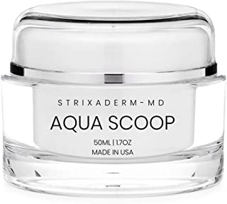 AquaScoop – Anti Aging Plumping Cream with Peptides & Antioxidants – Intensive Moisturizer – Firms & Plumps for a Timeless Ageless Look | Advanced European Skin Care Gel | Strixaderm MD (50 ml)
