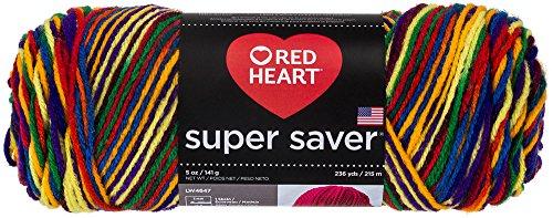 Red Heart 66399Super Saver Yarn, Mexicana Print