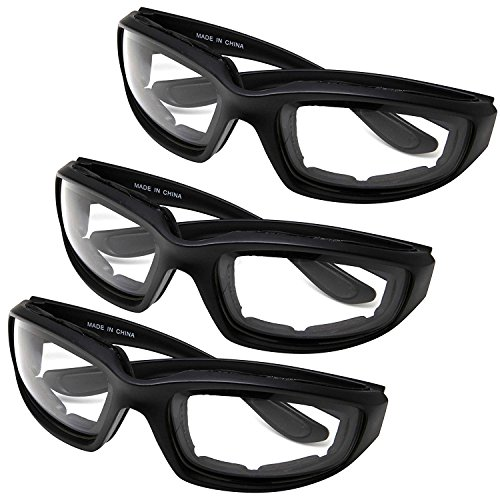 All Weather Protective Shatterproof Polycarbonate Motorcycle Riding Goggle Glasses 3 Pack Set Pouches NOT included (Anytime Pack)