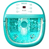 Belmint Foot Spa Bath Massager with Heat - Foot Massager Machine Feet Soaking Tub | Features Vibration, Spa, Roller, Massage Mode | 6 Pressure Node Rollers for Stress Relief - Upgraded Version