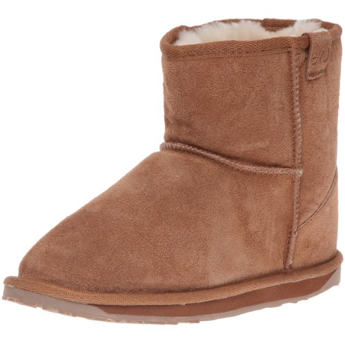 Emu Wallaby Mini K10103 Unisex - Kinder Stiefel, Beige (Chestnut), 35 EU (2 UK)
