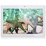 Tablet 10 Zoll Android Tablet PC Qimaoo Android 8.1 3G Tablets mit 1 GB RAM 16 GB ROM IPS HD (1280 x 800), Dual SIM/Kamera 2MP+5MP Quad Core CPU, Unterstützung WiFi/GPS/Bluetooth